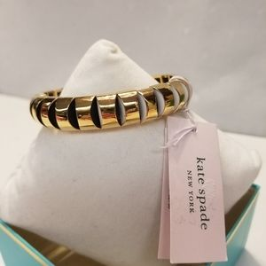 Kate Spade Sliced Scallops Small Stretch Bracelet